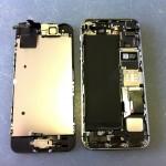 iPhone5Sフロントパネル外し方
