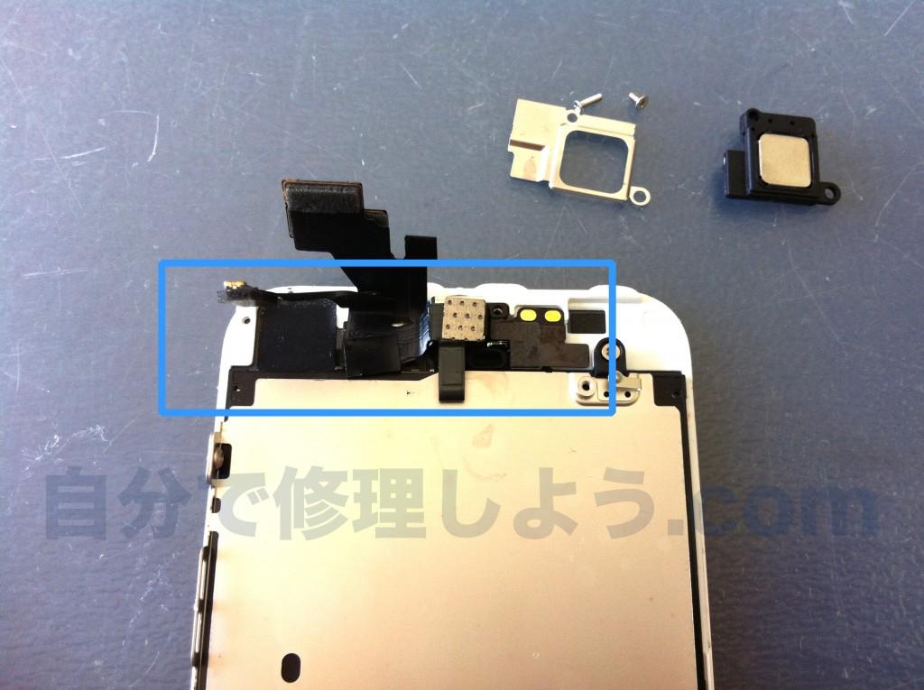iPhone5内側カメラ