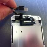 iPhone6フロンカメラケーブル修理方法