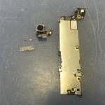 iPhone5アウトカメラ修理方法