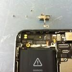 iPhone5バイブレーター修理方法