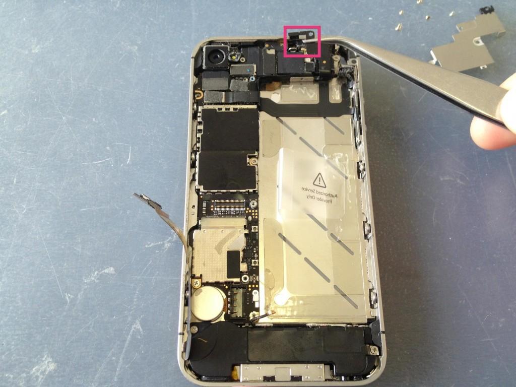 iPhone4Sピン外す