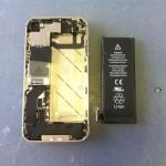 iPhone4Sバックパネル、バッテリー修理方法