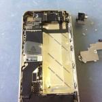 iPhone4Sアウトカメラ修理方法