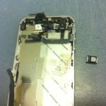 iPhone4Sイヤスピーカー修理方法