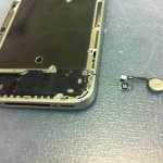 iPhone4Sホームボタン修理方法