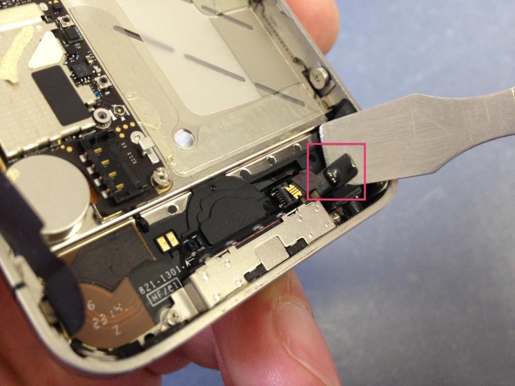 iPhone4Sホームボタンケーブル