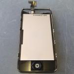 iPhone4Sガラス割れ、液晶、タッチパネル修理方法