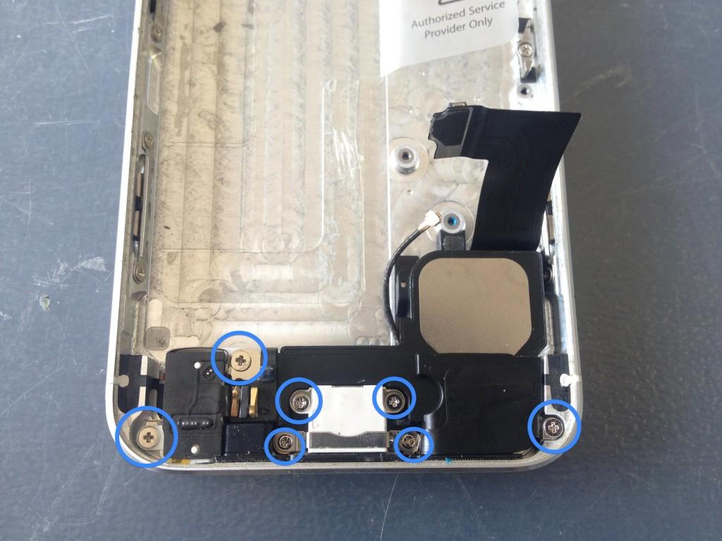 iPhone5ライトニングコネクタコネクタ外し方