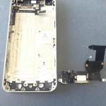 iPhone5ライトニングコネクタ、マイク、イヤホン修理方法