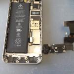 iPhone5Sライトニングコネクタ、マイク、イヤホン修理方法