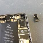 iPhone5Sアウトカメラ修理方法