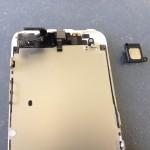 iPhone5イヤスピーカー修理方法