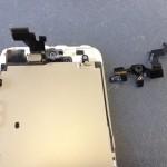 iPhone5インカメラ、センサー修理方法