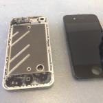 iPhone4ガラス、タッチパネル、液晶修理方法