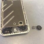 iPhone4ホームボタン修理方法
