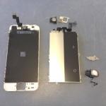 iPhoneSEガラス、タッチパネル、液晶パーツの交換方法