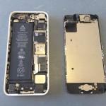 iPhone5Cフロントパネル外し方