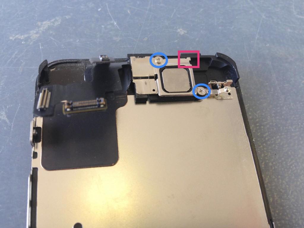 iPhone5Cイヤスピーカープレート
