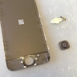 iPhone5Cホームボタン修理方法