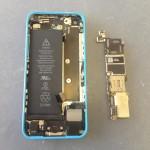 iPhone5C基盤ロジックボード外し方