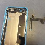 iPhone5Cスリープボタン、ボリュームボタン、フラッシュ修理方法