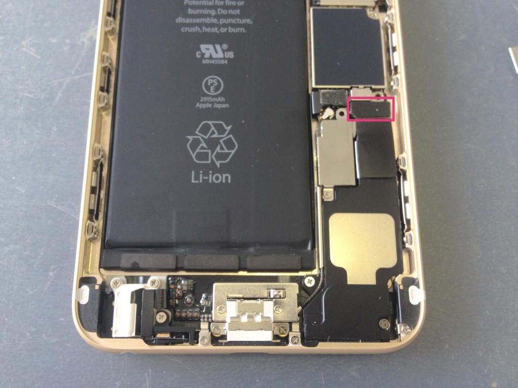 iPhone6Plusライトニングコネクタ接続