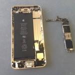 iPhone6Plus基盤、ロジックボード外し方