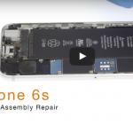 iPhone6Sフロントパネル(ガラス、液晶、タッチパネル)の交換方法
